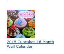 2015 Cupcakes 16 Month Wall Calendar