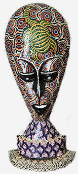 Art Mask Sculpture
