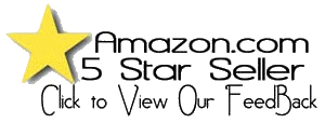 5 Star Amazon Seller Click to View Our Ratings