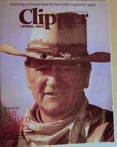 1976 Pan Am Clipper Magazine