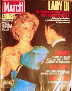 Nov. 22,1985 Paris Match Magazine