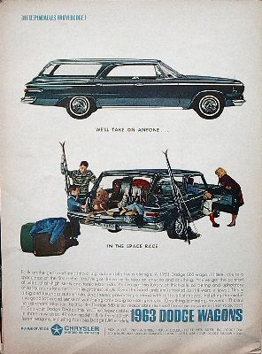 1963 Dodge Wagons Advertisement
