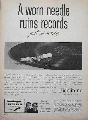 Fidelitone Advertisement