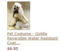 Pet Costume - Football Fever Costume XS