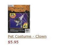 Pet Costume - Clown